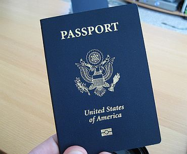 An American passport