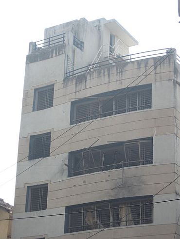 Chabad House in south Mumbai, one of the 26/11 targets