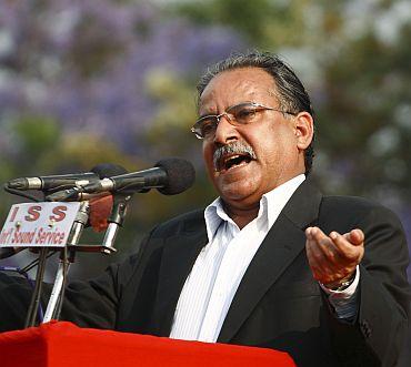Maoist chair Prachanda
