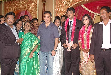 Actor Kamal Hassan at the reception