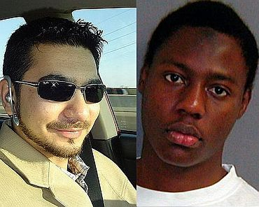 (Left) Times Square terror plotter Mohammad Shehzad. (Right) Umar Farouk Abdulmutallab, a Nigerian student who tried to ignite a quantity of the explosive that had been hidden in his underpants, on a US-bound plane