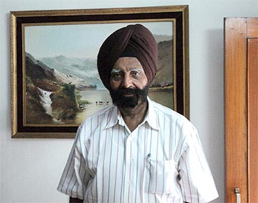 Brigadier Kuldip Singh Chandpuri, the hero of the battle of Laungewala in 1971