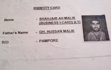 The 3 suspected terrorists are in their mid 20s and hail from Kashmir