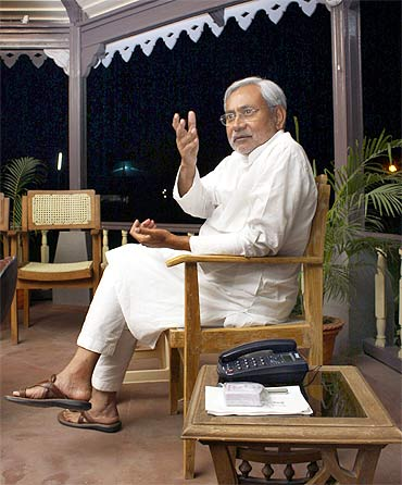 Bihar's Chief Minister Nitish Kumar