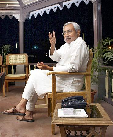 Bihar's Chief Minister Nitish Kumar