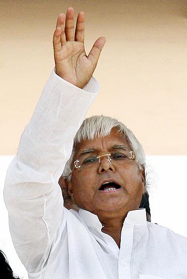 Rashtriya Janata Dal chief Lalu Prasad
