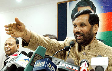 Lok Janshakti Party chief Ramvilas Paswan