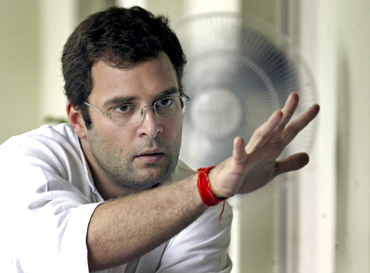 Congress leader Rahul Gandhi