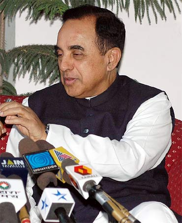 Janata Party president Subramanian Swamy filed a petition seeking the court's direction to the PM to grant sanction to prosecute Raja