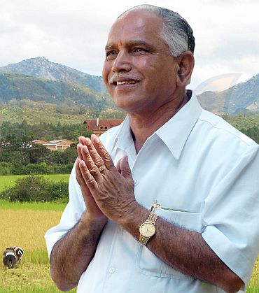 B S Yeddyurappa, the master survivor
