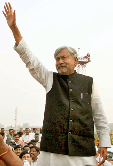 Seasoned and down-to-earth, Nitish Kumar did the delicate balancing act to perfection