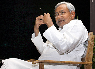Success was slow in coming for Nitish Kumar