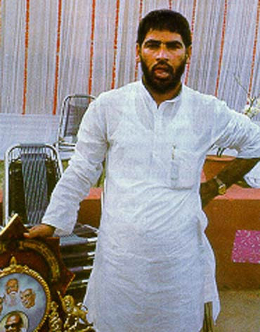 Congress leader Sadhu Yadav