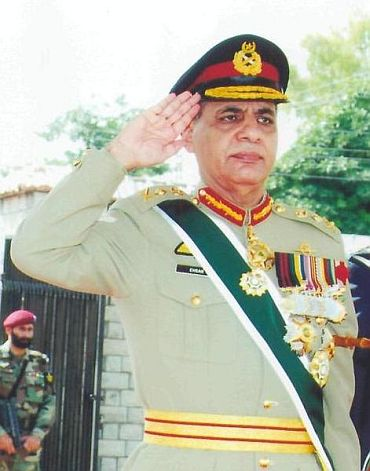 Retired General Ehsan Ul Haq