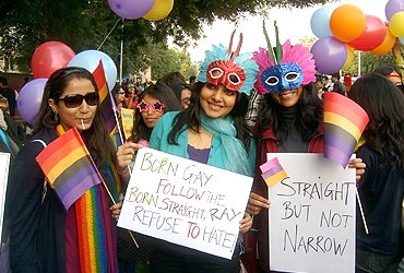 Gay, colourful and proud in Delhi