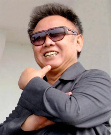 North Korean dictator Kim Jong-il