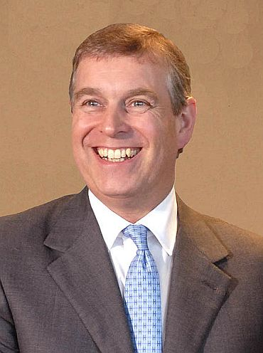 Duke of York Prince Andrew