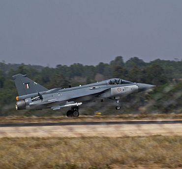 Tejas successfully test fires R-73 missiles