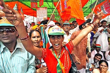 'BJP's victory, the ultimate effort of workers'