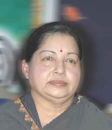 All India Anna Dravida Munnetra Kazhagam chief J Jayalalithaa