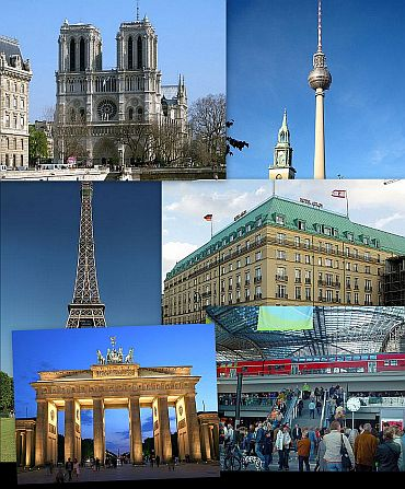 Europe's landmarks on terror hitlist