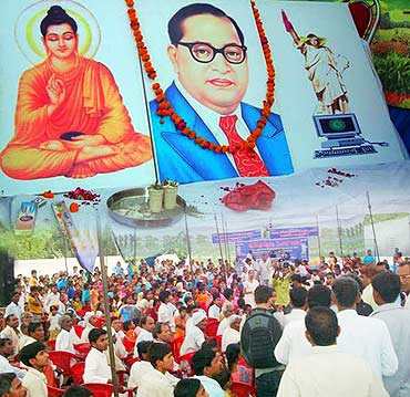 A Dalit rally