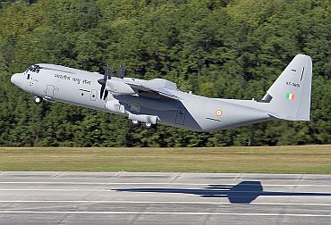 C-130J Super Hercules takes flight