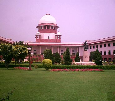 The Supreme Court of India complex in New Delhi