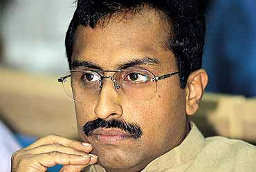 RSS leader Ram Madhav