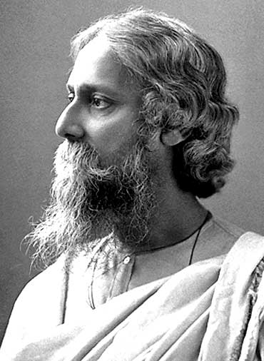 Rabindranath Tagore, who won the Nobel Prize for Literature in 1913