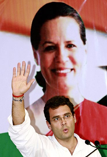 Congress general secretary Rahul Gandhi, speaks during a conference in Kerala