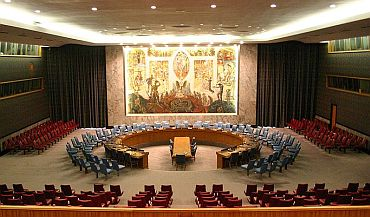 A view of the UN Security Council