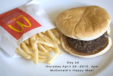 Day 20 of the Happy Meal Project