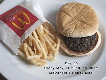 Day 35 of the Happy Meal Project