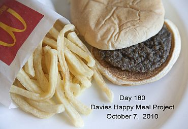Day 180 of the Happy Meal Project