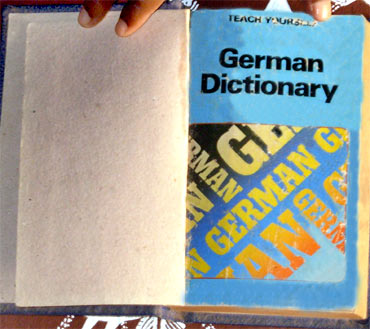 The dictionary that helped Vadu learn German