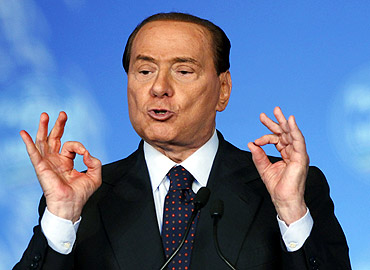 Italian Prime Minister Silvio Berlusconi repeatedly hits the headlines for his sexist comments