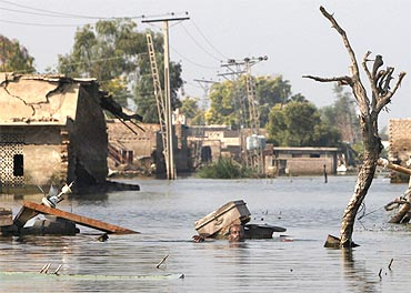 The recent Pakistan floods were the w