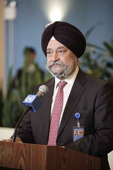 Hardeep Puri speaks at United Nations