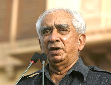 Former foreign minister Jaswant Singh