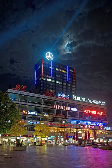 Berlin sizzles in the night
