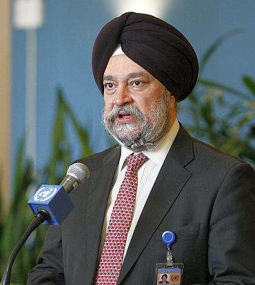 Hardip Puri, India's Permanent Representative to the United Nations