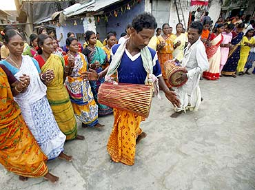 An Adivasi marriage ceremony in Bihar