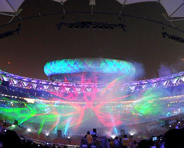The CWG closing ceremony