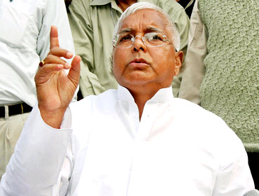 Lalu Prasad Yadav, leader of the Rashtriya Janata Dal