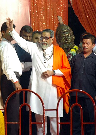 Sena chief Bal Thackeray