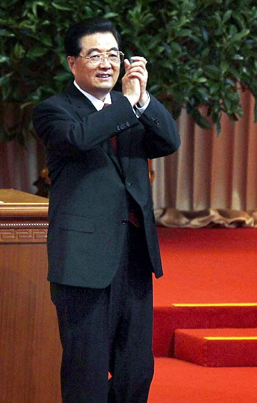 Chinese President Hu Jintao