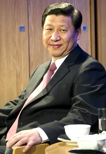 Xi Jinping will take over from Hu Jintao as president in 2013