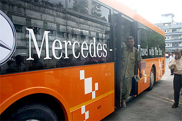 BEST will be plying Mercedes buses for first time