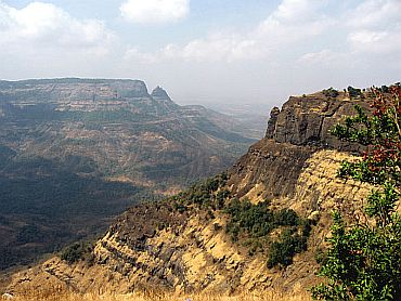 The Sahyadri Mountains in Matheran, Maharashtra